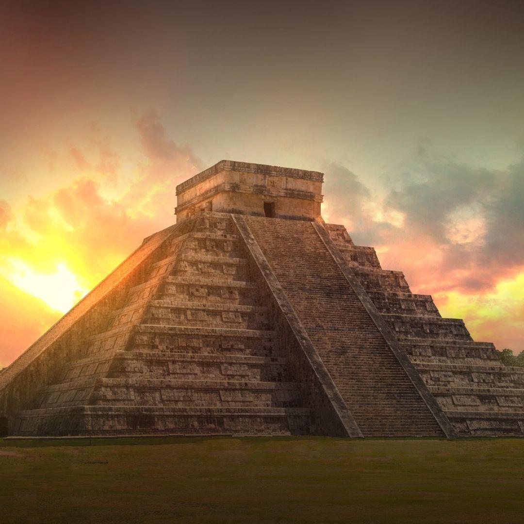 Chichen itza rovine Maya